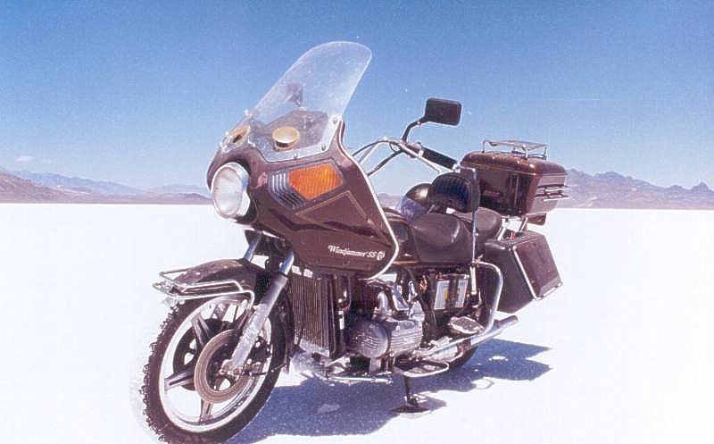 1979 Honda GL1000 с обтекателем Windjammer