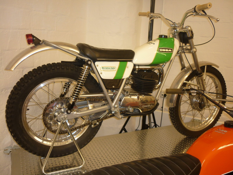 1972 OSSA MAR (Mick Andrews replica) 250