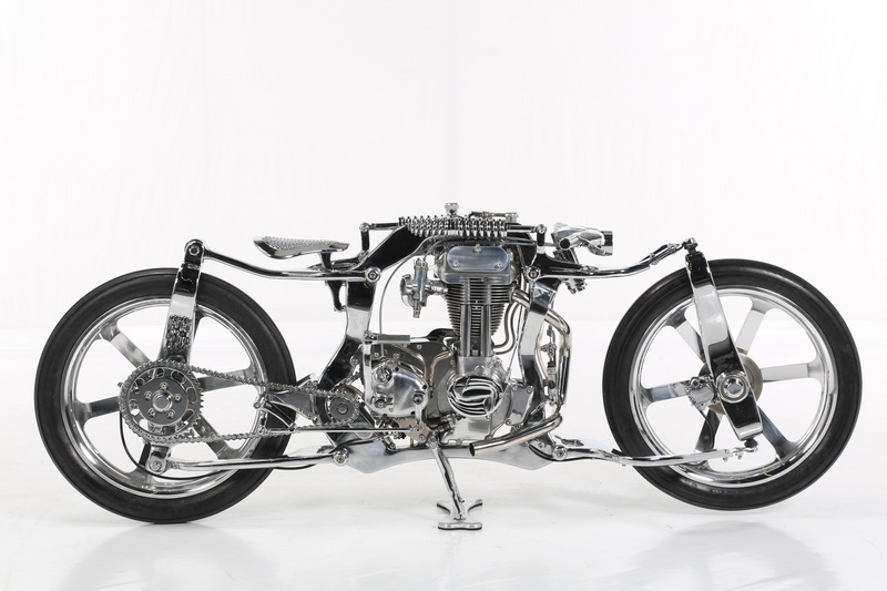Freestyle 2nd, Eastern Bobber Custom Work - BoneX