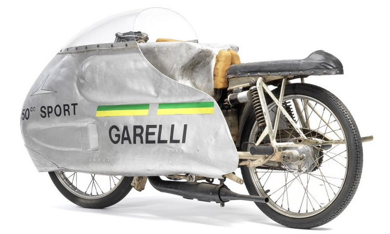 1963 - Garelli Record Breaking Racer
